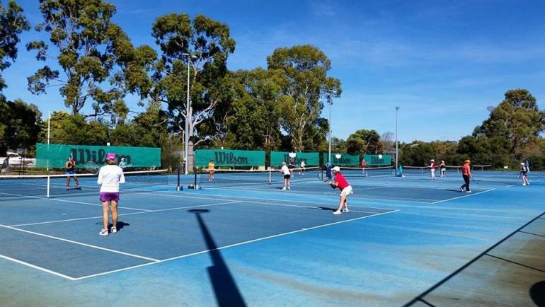 Men's Social Tennis